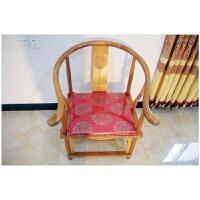 豪古居中式沙发垫红木家具坐垫古典实木家具海绵餐椅座垫圈椅靠垫 其他规格