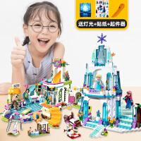 �犯叻e木女孩子系列公主城堡拼�b�和�玩具�e墅房子水上��@游���