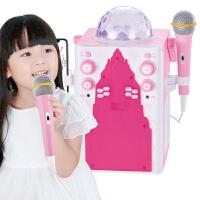 儿童唱歌玩具宝宝话筒麦克风无线蓝牙家用KTV女孩卡拉OK唱歌机