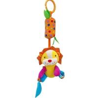 婴儿床铃 布艺风铃床头小铃铛推车挂件新生的儿玩的宝宝玩具0-1岁