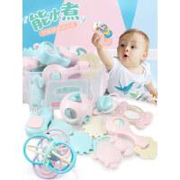 婴儿手摇铃玩具牙胶益智早教0-3-6个月宝宝一1岁幼儿新生5男女孩8