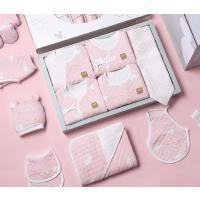 婴儿礼盒套装夏季薄款新生儿衣服套盒初生刚出生宝宝满月女孩