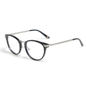 威古氏 复古潮流大框男女眼睛近视眼镜板材框架 5046