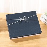 长方形礼品盒子小创意精美包装盒大号文艺礼品空盒子定制