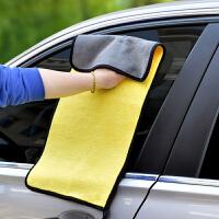 洗车毛巾大号吸水不留痕汽车抹布擦车布专用巾不掉毛车用大号