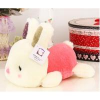 兔子公仔 可爱宝宝趴趴兔毛绒玩具玩偶咪咪兔公仔小白兔子娃娃生日礼物