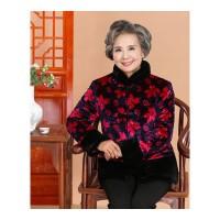 老年人冬装女60-70-80岁奶奶装中老年女装妈妈装唐装老人棉衣