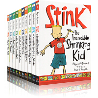 Stink系列 斯汀科10册 英文原版桥梁书 Judy Moody系列作者Megan McDonald 稀奇古怪小朱迪弟弟的故事