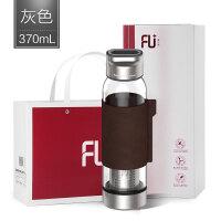 高端FU+逸系列玻璃杯茶水分离便携过滤泡茶杯便携随手杯水杯抖音
