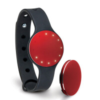 美国Misfit Shine 智能手环纽扣式运动追踪器 减肥健身睡眠监测计步器 防水蓝牙智能手环手表 iOS安卓苹果手机iPhone6 Plus/5S iPad Air mini三星小米通用