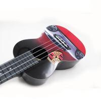 支持货到付款 彩印尤克里里 ukulele乌克丽丽小四弦 夏威夷小吉他 黑色 跑车 AUP-24-31
