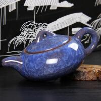 尚帝 冰裂釉陶瓷茶壶 功夫茶具配件BH2014-323A