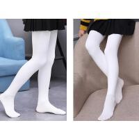 儿童连裤袜夏季薄款女童打底裤春秋宝宝丝袜连体白色舞蹈袜子