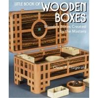 预订Little Book of Wooden Boxes:Wooden Boxes Created by the Ma