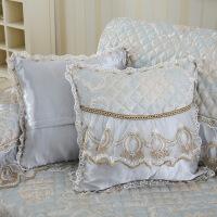 新款四季通用沙发垫抱枕套布艺简约现代抱枕靠垫午睡枕 含芯