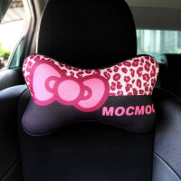【品牌特惠】汽车用品内饰套装豹纹卡通车内装饰品车饰手刹排挡安全带护肩套女
