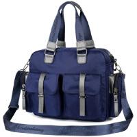 防水韩版女包斜挎大包男士出差行李包单肩手提包健身运动旅行包袋