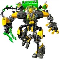 兼容乐高英雄工厂洛卡强袭合体兽机甲生化战士拼装积木绝版玩具 豪翼XL机甲 10489