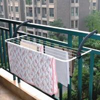 新品 可折叠晾衣架 阳台挂架 室外窗台挂衣架 黑色