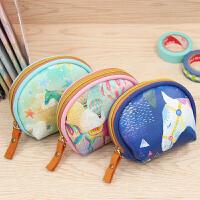【单件包邮】得力66677学生迷你零钱包创意女儿童白领小收纳文具袋韩国铅笔袋