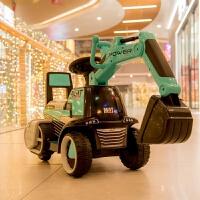 ��油谕�C可�T可坐�和�挖掘�C男孩可坐充�挖土�C小孩挖�C��庸�C����玩具�工程� 滑行款概念�{+音��艄�+�Y包 1-5�q8