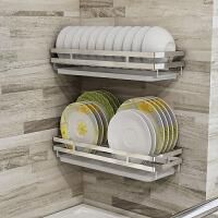 免打孔碗碟架壁挂式墙上沥水碗架碟架单层晾碗放碟子碗碟收纳架