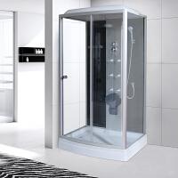 【品牌特惠】淋浴房整体一体式长方形家用沐浴间封闭式钢化玻璃浴室移动洗澡间