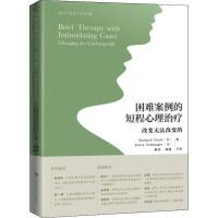 困难案例的短程心理治疗 改变无法改变的 上海科学技术出版社