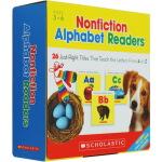 Nonfiction Alphabet Readers 26册 学乐字母启蒙教材 Scholastic学乐