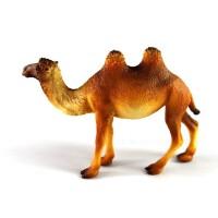 儿童玩具!实心动物模型玩具 双峰骆驼 做工精细 收藏摆件!