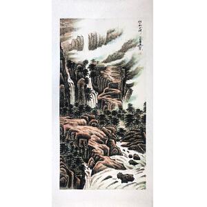 中国美协会员 杨学军(壮丽山河)已托裱ZH75