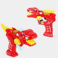 宜佳达 儿童电动玩具枪 恐龙模型卡通枪声光宝宝枪男孩耐摔玩具小孩六一儿童节礼物 送2节7号电池