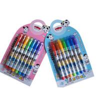 好吉森鹤/北京线上50元包邮//魔笔小良可擦洗画笔涂鸦笔7色绿色环保/7支一卡/彩色绘图笔/可擦水彩笔---------2卡14支+送品6581