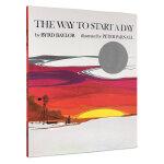 顺丰发货 The Way to Start A Day 开始的地方 凯迪克银奖绘本 Byrd Baylor 美国图书馆