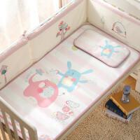 婴儿凉席冰丝新生儿宝宝凉席婴儿床凉席儿童凉席幼儿园水洗 其它