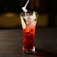 玻璃喇叭杯 鸡尾酒杯奶茶杯收腰杯莫吉托杯果汁杯长岛冰茶杯 320ml/ 11 oz蜂腰杯(普通玻璃)