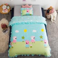 新款儿童棉被冬被幼儿园 午睡幼儿园专用被子宝宝午睡婴儿小棉被子纯棉小孩儿童棉花被芯