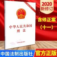 中华人民共和国刑法(含修正案(十一)2020新修订 32开单行本 中国法制出版社