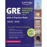 英文原版 GRE 考试工具书 GRE 2017 Strategies, Practice & Review with