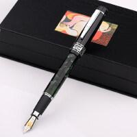 钢笔 毕加索ps-915欧亚情怀 翠绿幻彩赛璐珞铱金笔
