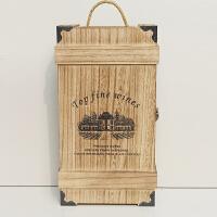 红酒盒子双支包装盒实木木质酒盒葡萄酒盒子双只木箱定制红酒木盒