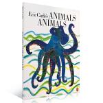 顺丰发货 Eric Carle's Animals Animals 艾瑞 卡尔的动物 教你识动物 儿童启蒙认知英文原版