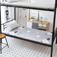 夏季学生宿舍床垫单人床褥子垫被折叠0.9x1.9m1.2米1.0上下铺90cm 0.9m学生床