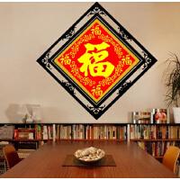 5D钻石画满钻客厅点贴钻十字绣卧室五福临门2019砖石秀中国风