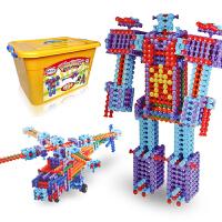 光华玩具 竹节棍至尊套装851PCS 儿童益智拼装拼搭积木玩具拼插积木 豪华创意积木