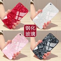 苹果6手机壳女款iphone6玻璃6splus硅胶仙女贝壳6s全包男潮6p大气六网红保护套plus水钻超薄支架个性