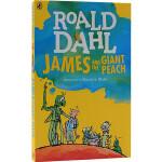 进口英文原版 罗尔德达尔Roald Dahl: James and the Giant Peach 詹姆斯与大仙桃