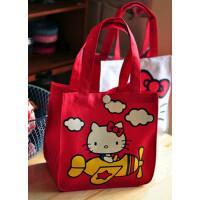 萌 日本 可爱hello kitty 机器猫便当包/小拎包/便当袋 多款