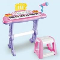 东佳儿童电子琴麦克风女孩玩具早教钢琴音乐小孩宝宝钢琴礼物