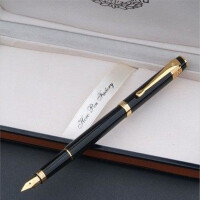 HERO英雄钢笔 英雄笔55黑漆钢笔 英雄礼品笔 英雄墨水笔